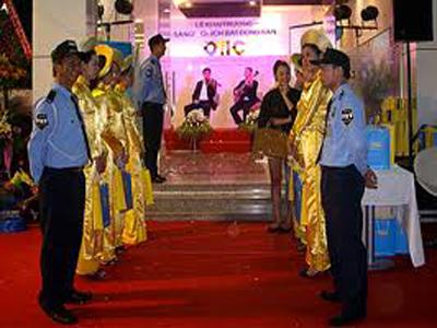 dịch vụ bảo vệ sự kiện lễ hội