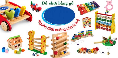 Đồ chơi hấp dẫn phù hợp với lứa tuổi các bé